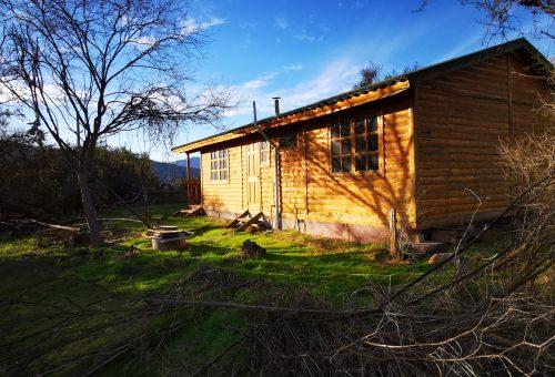 Parcela 1. 100% plana con cabaña – Fundo Alhue
