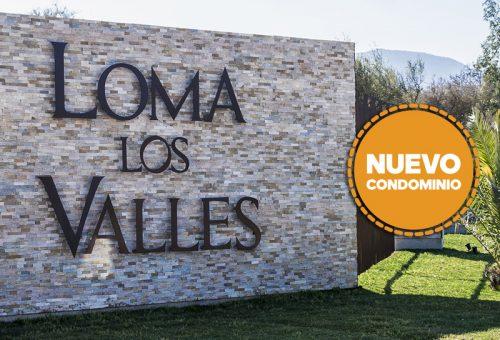 Parcelas nuevas de 5000m2. Proyecto Loma Los Valles