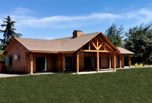 Espectacular casa de 165 m2 en parcela PLANA de 5.000 m2
