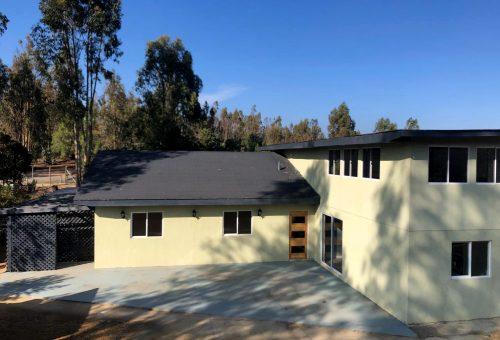 Casa de 350 m2 construidos en parcela de 5.000 m2 en Fundo el Romeral